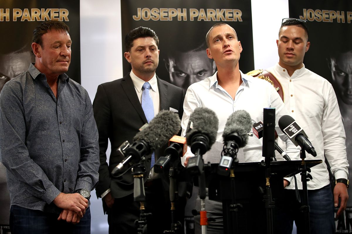 Joseph Parker Press Conference