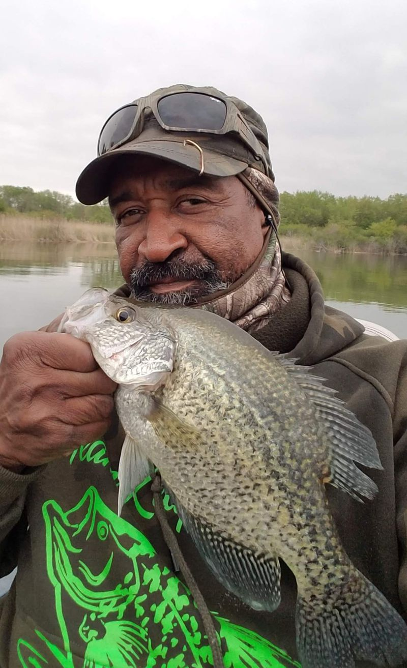 BoRabb Williams with a quality crappie. Provided photo