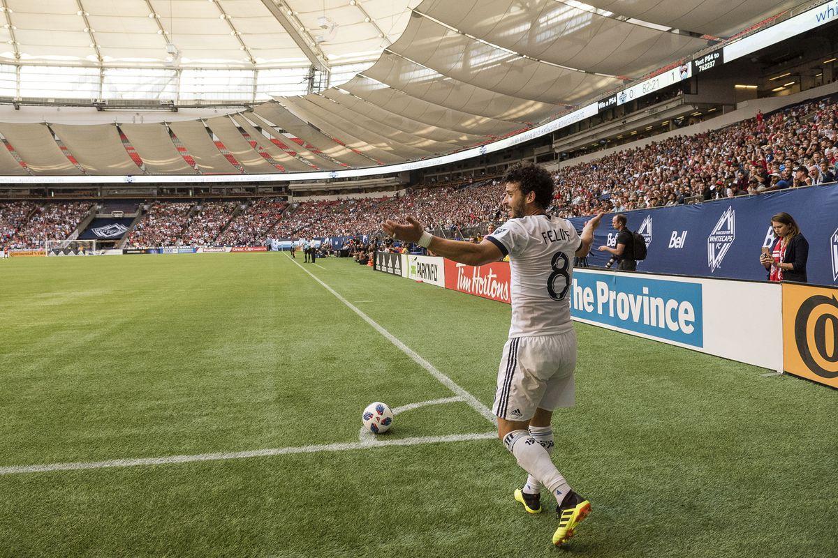 MLS: Colorado Rapids at Vancouver Whitecaps