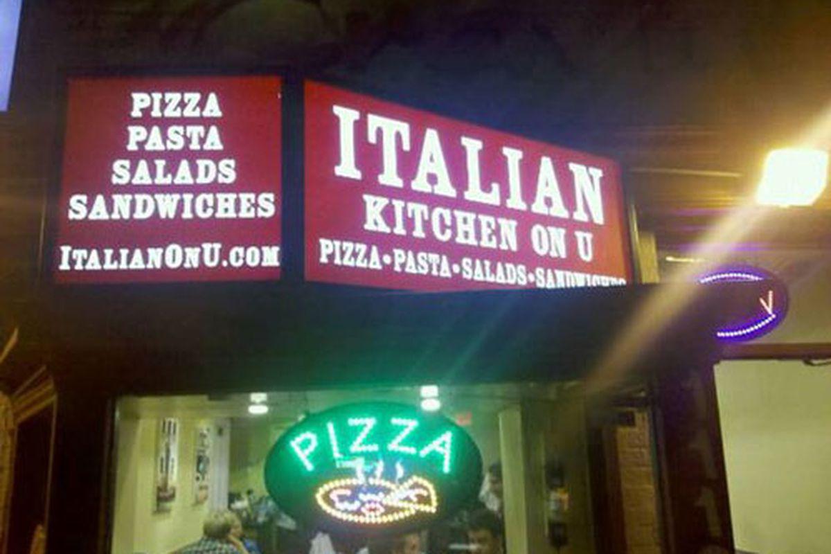 Italian Kitchen on U