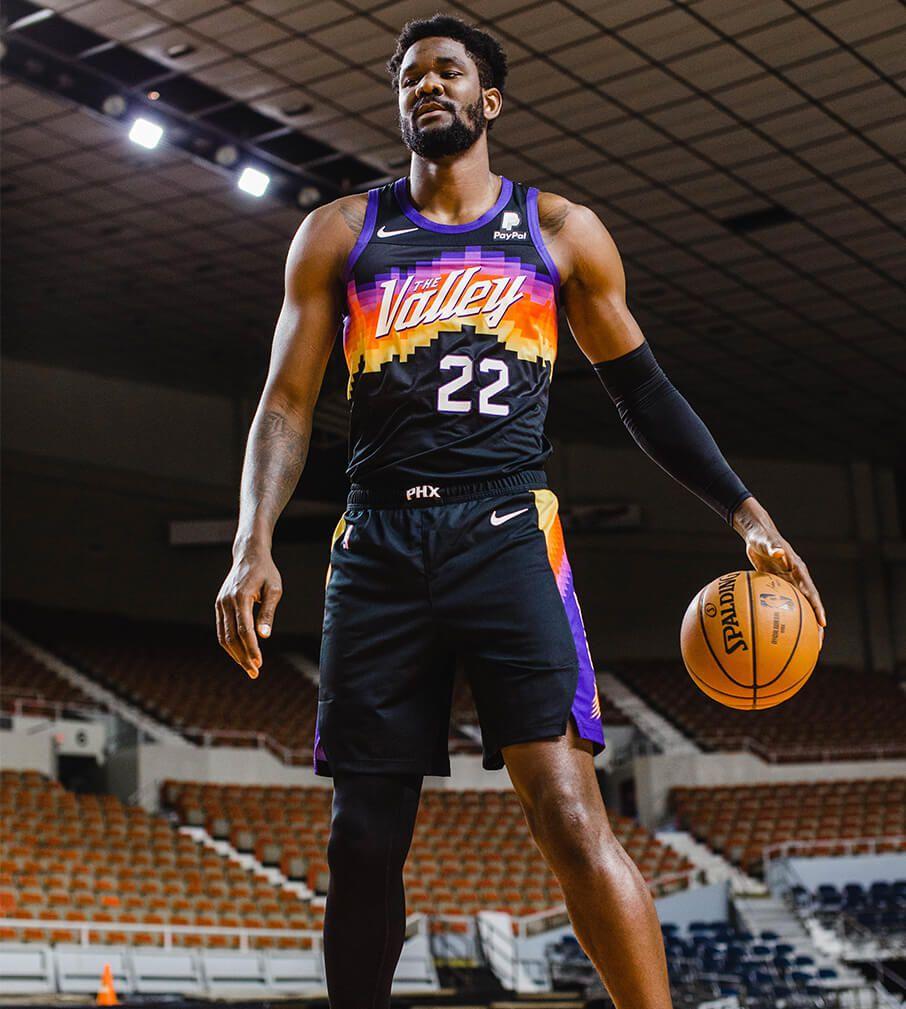 Phoenix Suns City Jerseys 2020-2021