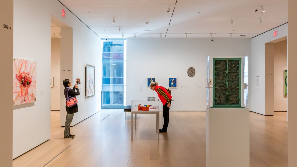 A delightful fifth-floor gallery devoted to the work of painter Florine Stettheimer and like-minded artists.