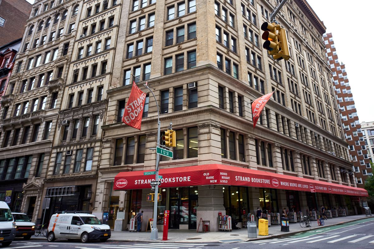The Strand bookstore near Union Square, July 24, 2020.