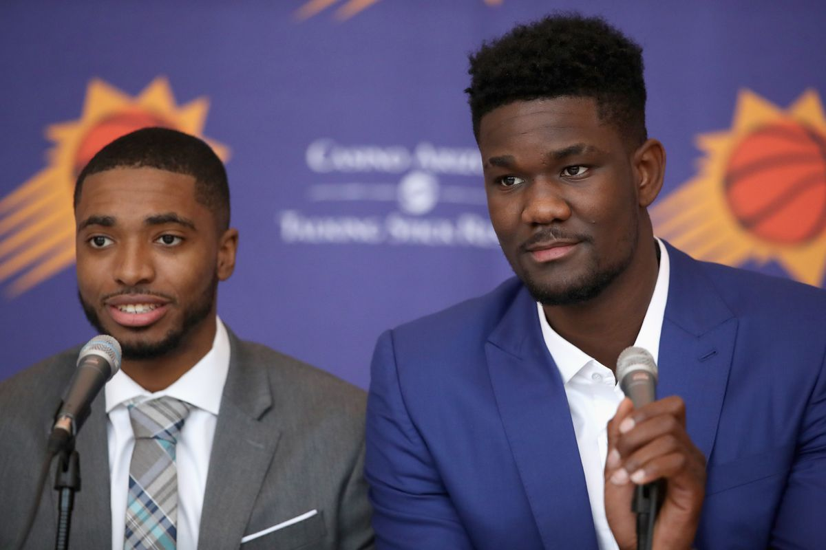 806ff5355 The 2018 NBA draft brought fans back to the Phoenix Suns - Bright ...