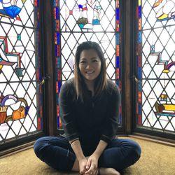 Ji Suk Yi in the Glasner Studio | Brian Rich/For the Sun-Times