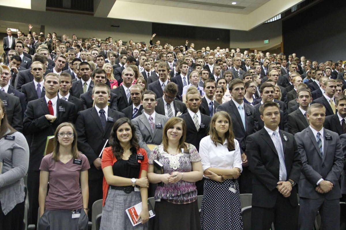 2012 Seminar for New Mission Presidents at the MTC in Provo, Utah