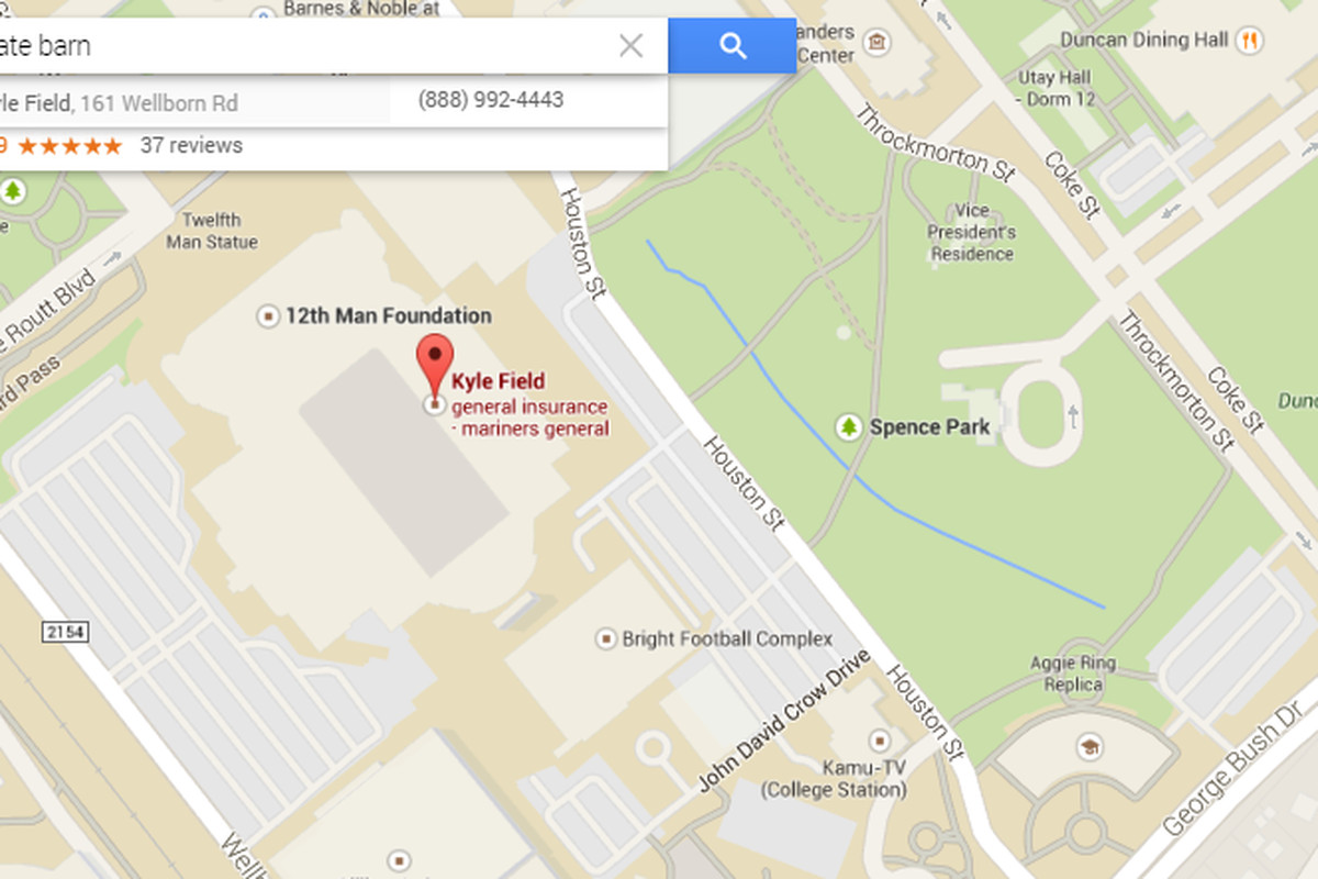 Map Of Texas Google.Google Maps Analyzes College Football Good Bull Hunting