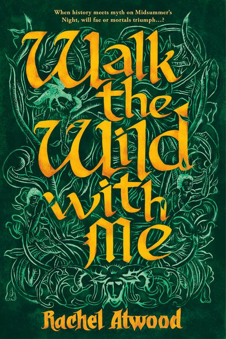 Walk the Wind with Me cover: the title woven into green celtic vines