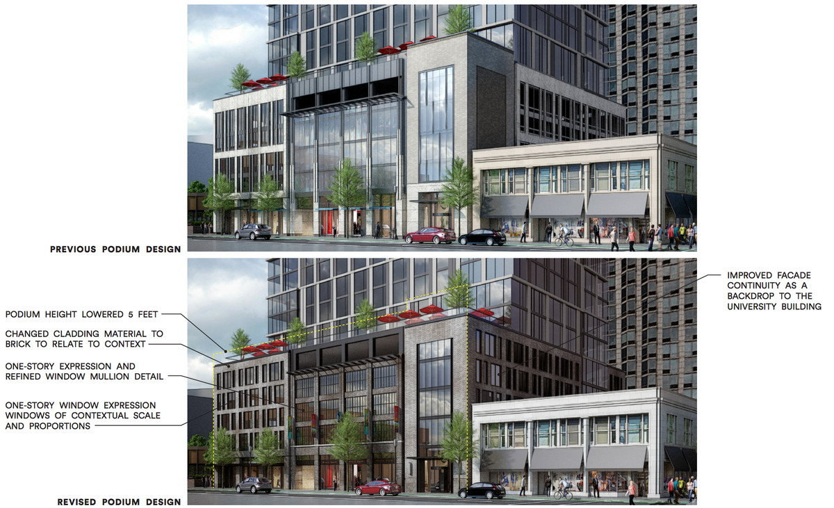 Plan for Evanston's tallest building returns with revisions