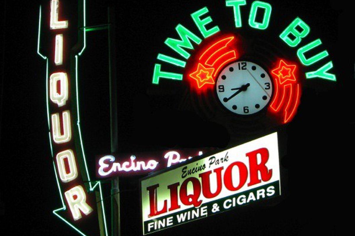 Encino Park Liquor, Encino.