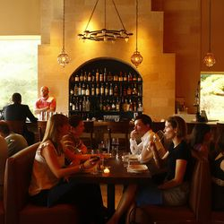 Zahav: The crown jewel of the new Philadelphia culinary movement, Zahav features a dining room that's as stunning as the food coming out of the kitchen. The open kitchen and open floor plan give the space an undeniable energy, and the colors are very subt