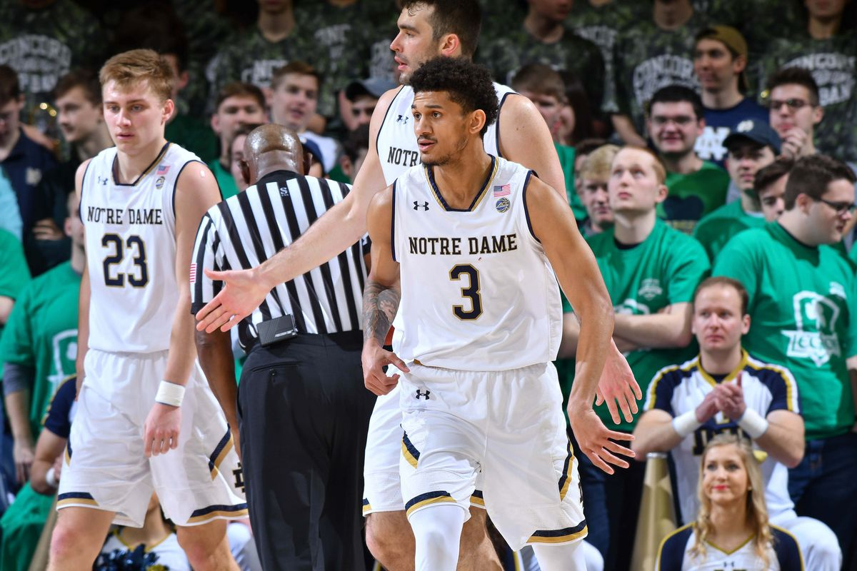 Quick Recap: Notre Dame Men's Hoops Tops BC 69-66 to Earn ...