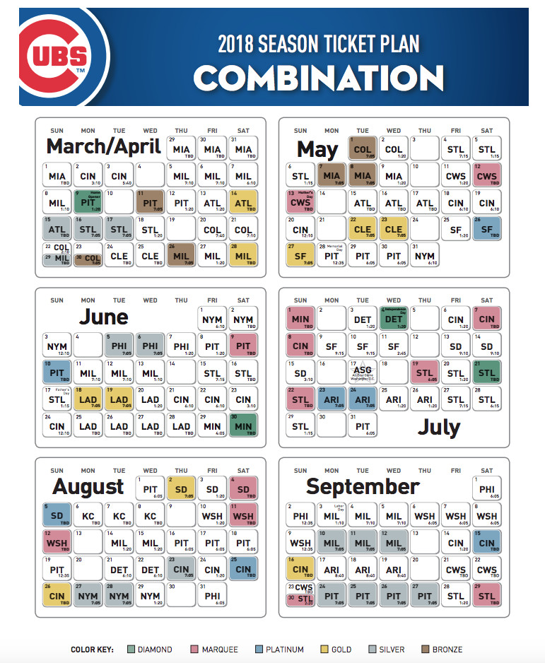 Cubs Release 2018 Season Ticket Pricing Bleed Cubbie Blue