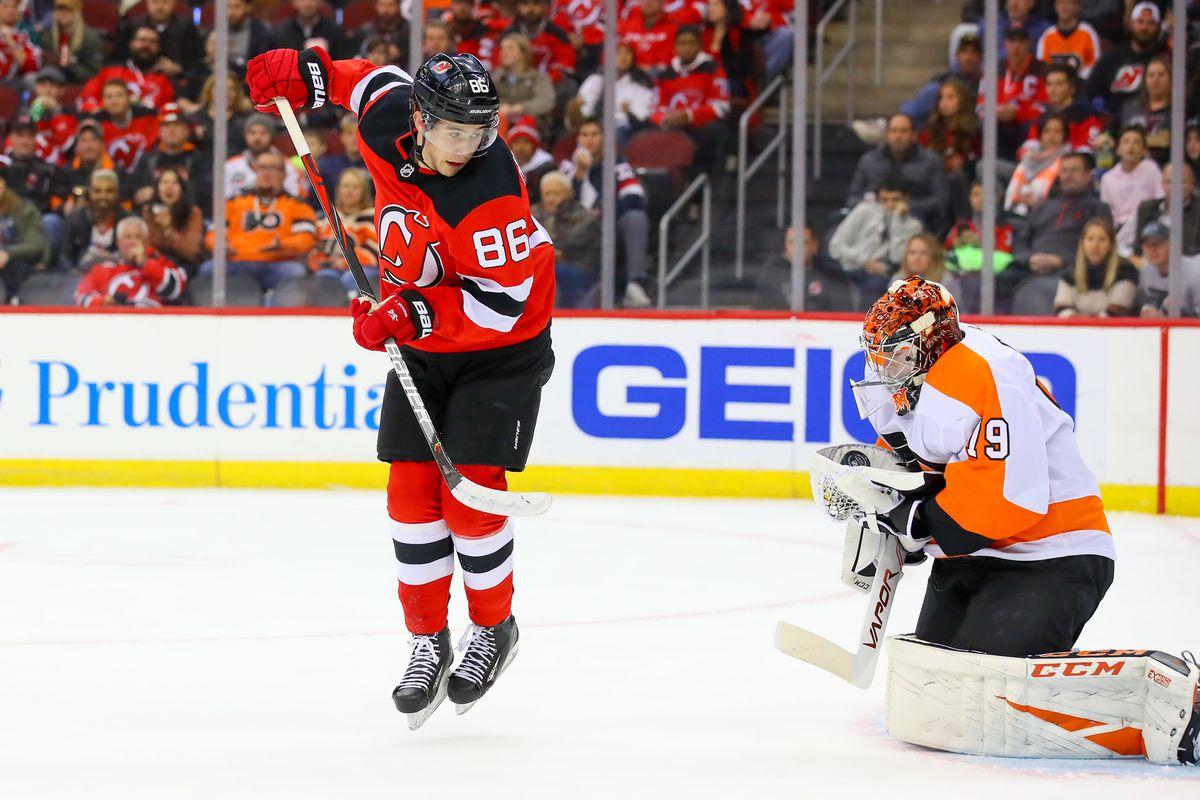 NHL: NOV 01 Flyers at Devils