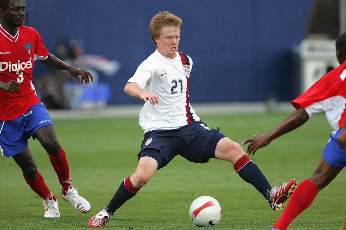 A long, long time ago, Dax McCarty played a U-20 game against Haiti