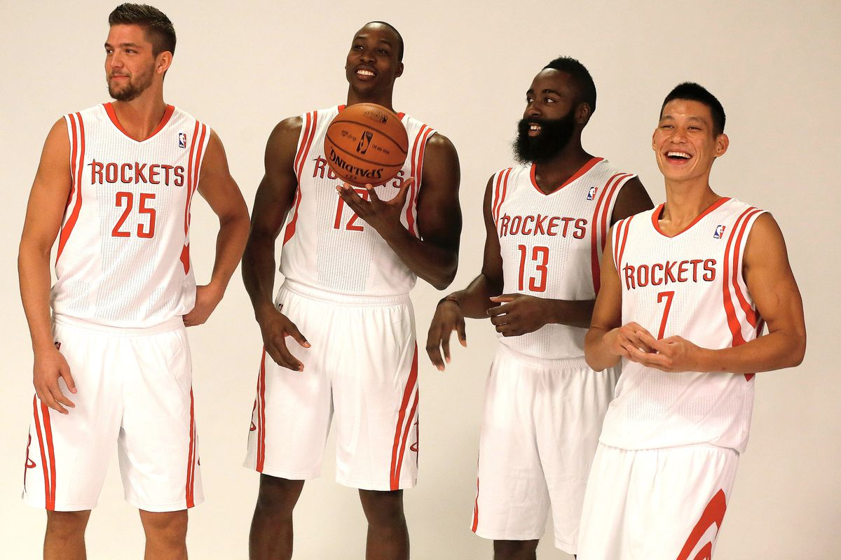 All of the guys on the left are an option before Jeremy Lin. That's a good thing, Houston.