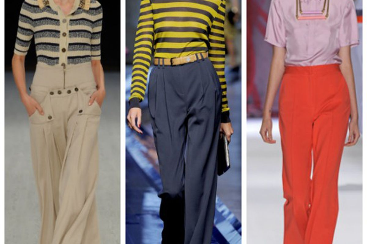 """Spring looks from (l-r): Matthew Williamson, Jason Wu, Cynthia Rowley. Images via <a href=""""http://Style.com"""">Style.com</a>"""