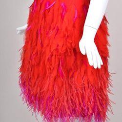 Matthew Willamson feather skirt was $795, now $495
