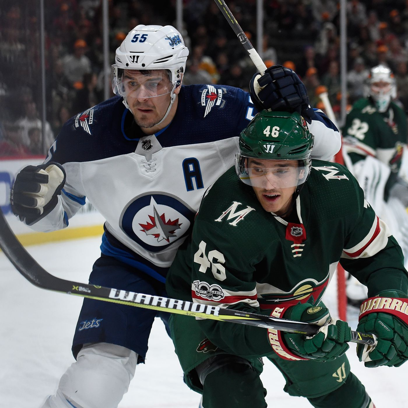 Game 1 Is Here Patrik Laine And The Jets Are No Small Task For The Minnesota Wild Jared Spurgeon Is Still A Game Time Decision Hockey Wilderness