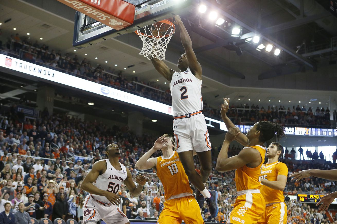 NCAA Basketball: Tennessee at Auburn