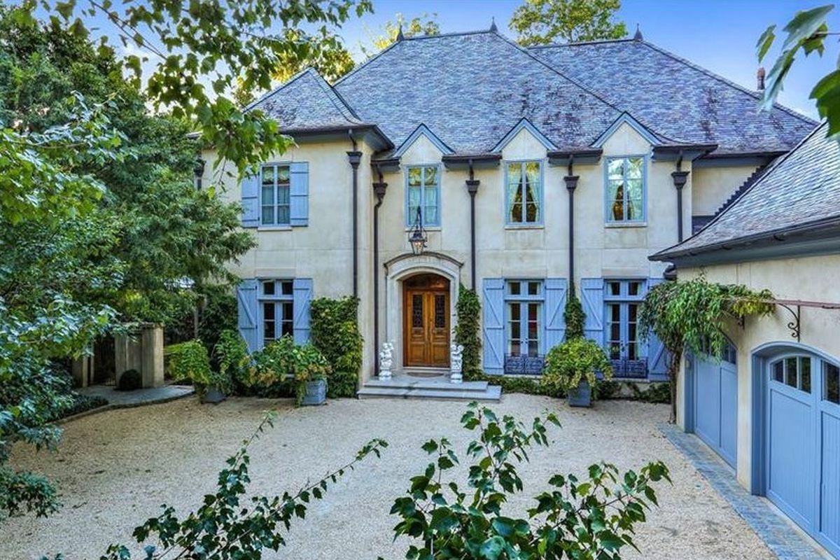 A French provincial home in Buckhead Atlanta.