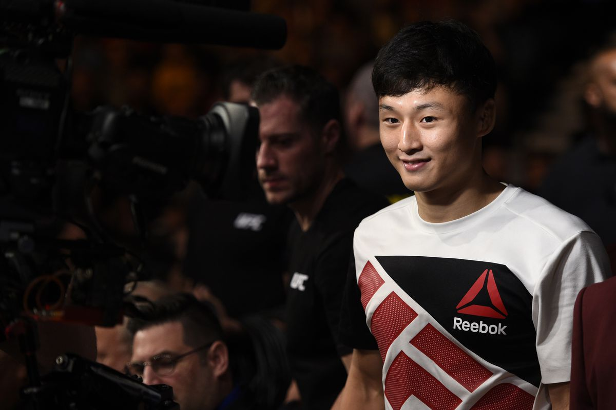 Doo Ho Choi before his fight against Thiago Tavares in 2016.
