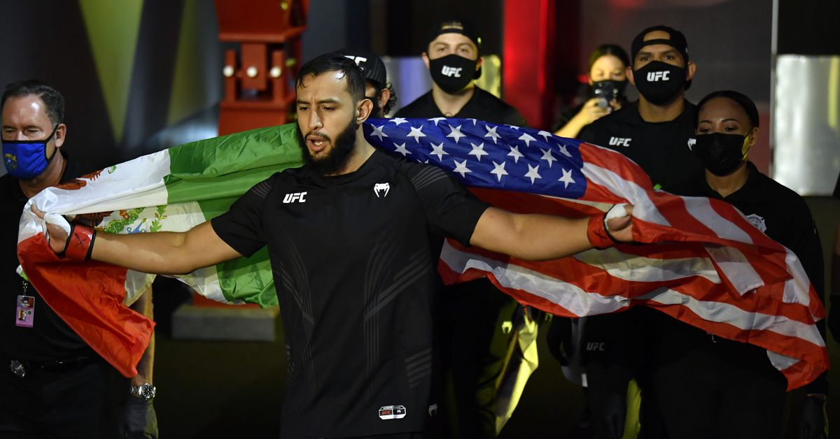 Dominick Reyes releases statement following UFC Vegas 25 loss: 'I love this game and at times it does not love me back'