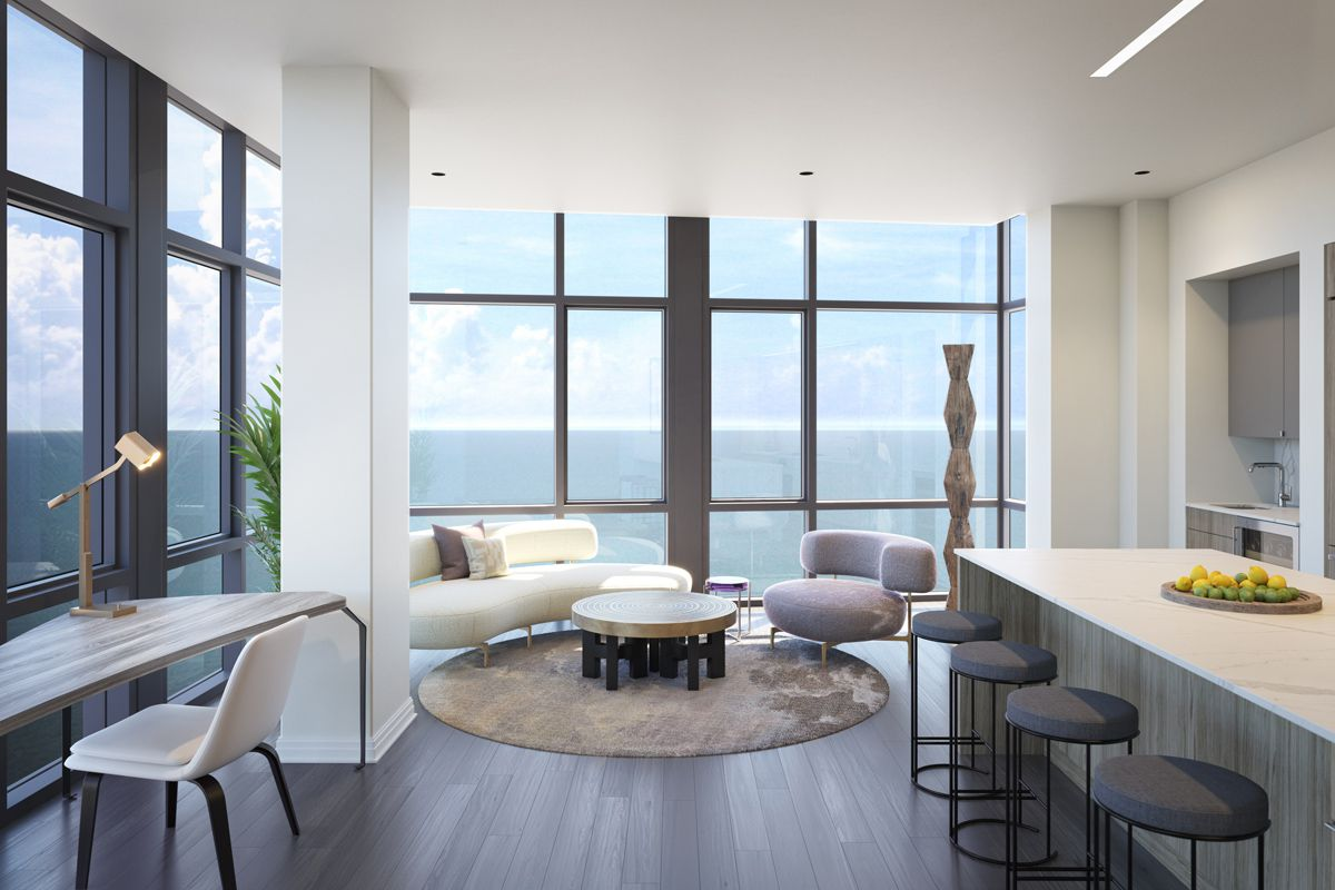 new gold coast apartments rent for 7 200 per month curbed chicago. Black Bedroom Furniture Sets. Home Design Ideas