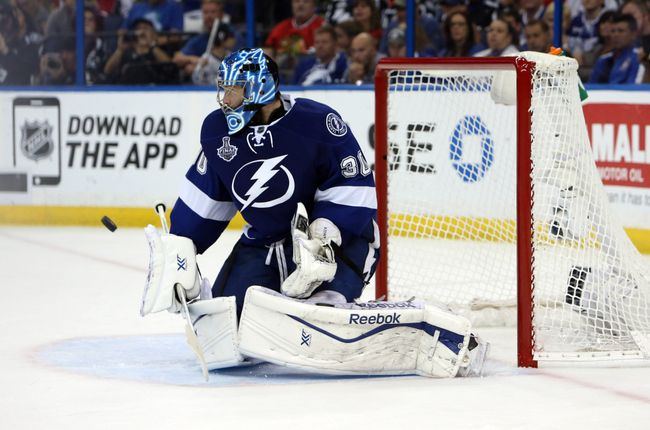 Ben Bishop will have to be Superman again this year for the Tampa Bay Lightning. (