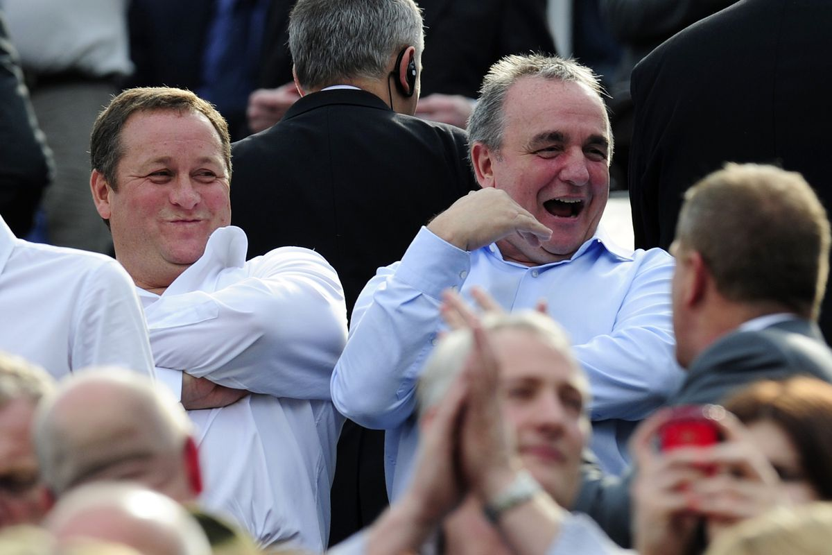 Does Mike Ashley take joy from the lunacy he creates?
