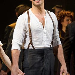 """FILE - In this March 12, 2012 file photo, Ricky Martin appears at the curtain call after his first performance in the new Broadway production of """"Evita"""", in New York."""