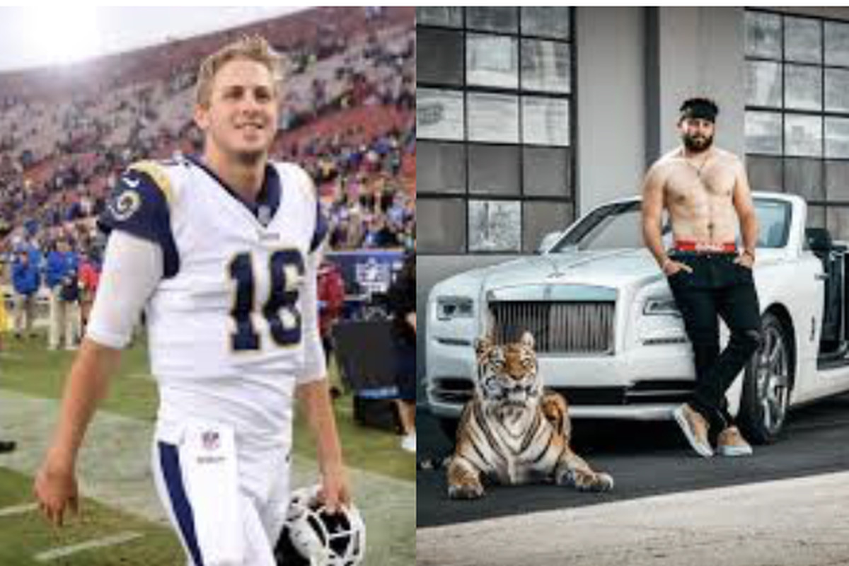 best loved a95e2 e97c6 Three reasons why Jared Goff and Baker Mayfield are NFL's ...