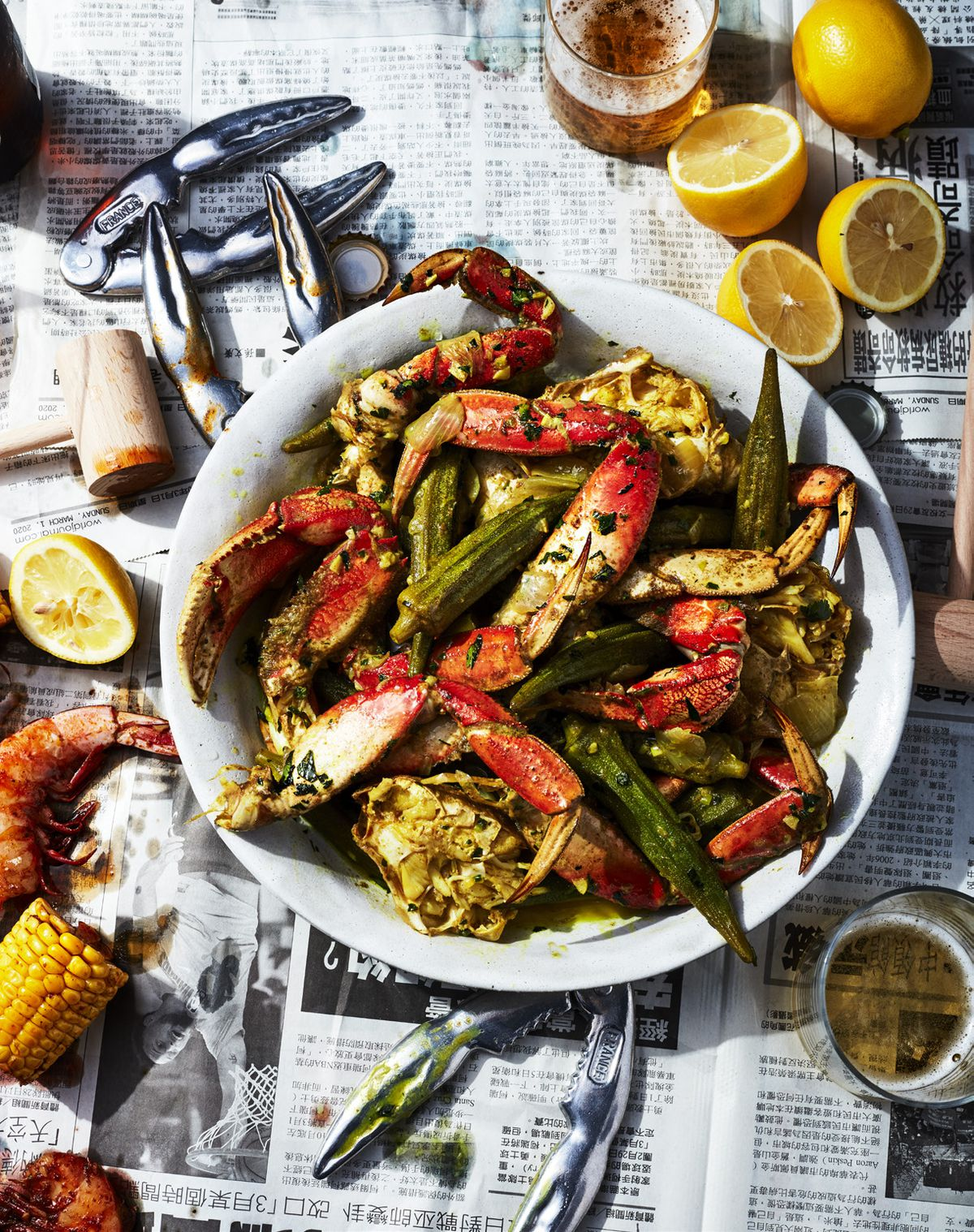 Crab bag from Ayesha Curry cookbook