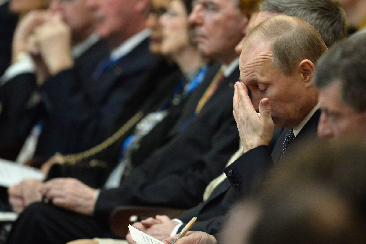 The early days of Putin's Olympics are not going as planned.
