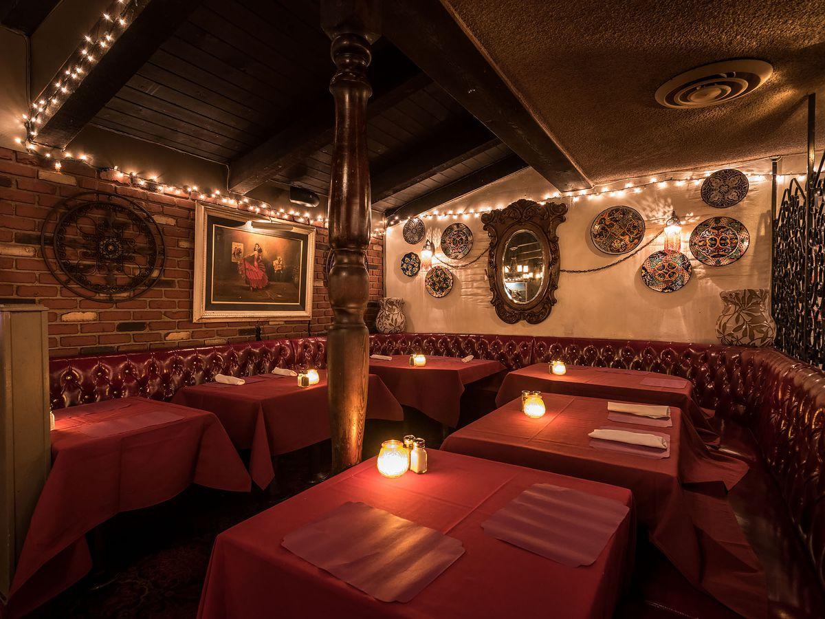 Inside Casa Vega in Sherman Oaks.
