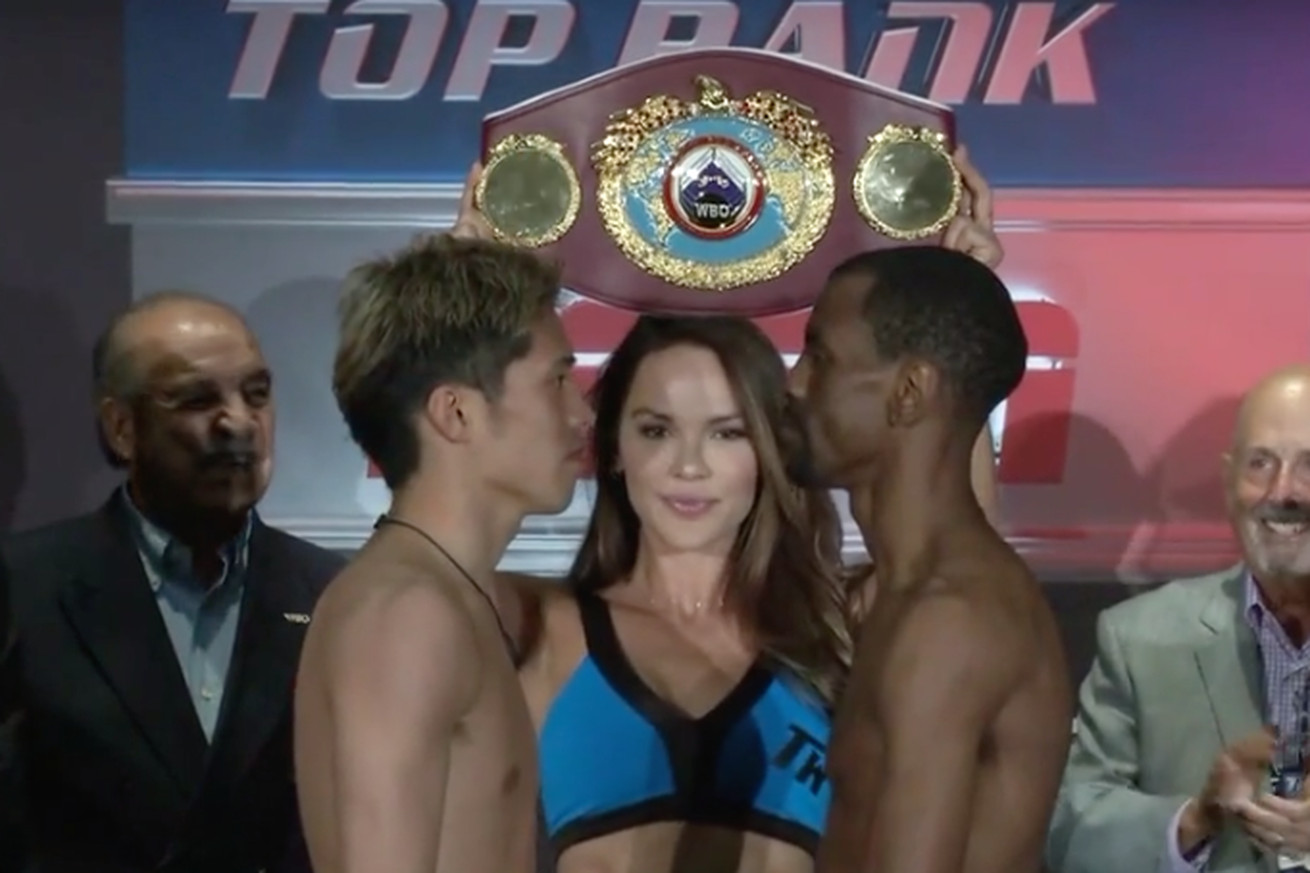 Screen Shot 2019 05 24 at 4.38.33 PM  2 .0 - Ito-Herring, Pedraza-Lozada official, fighters make weight