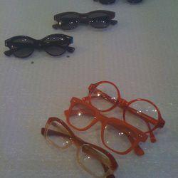 Red frames