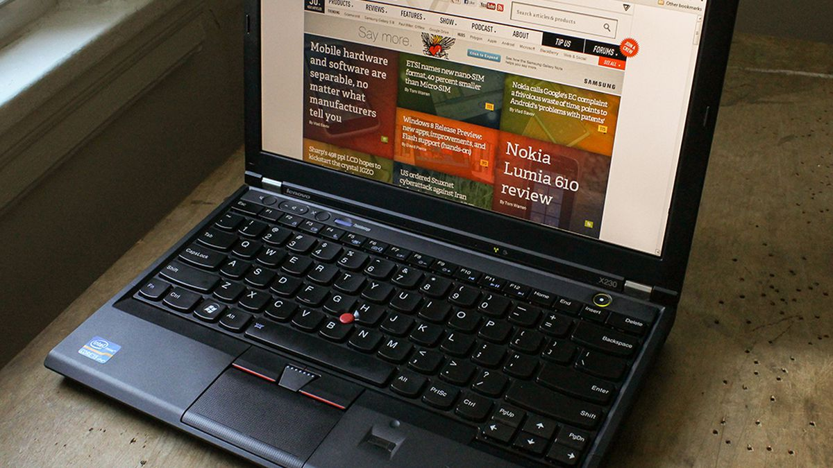 Lenovo ThinkPad X230 review - The Verge