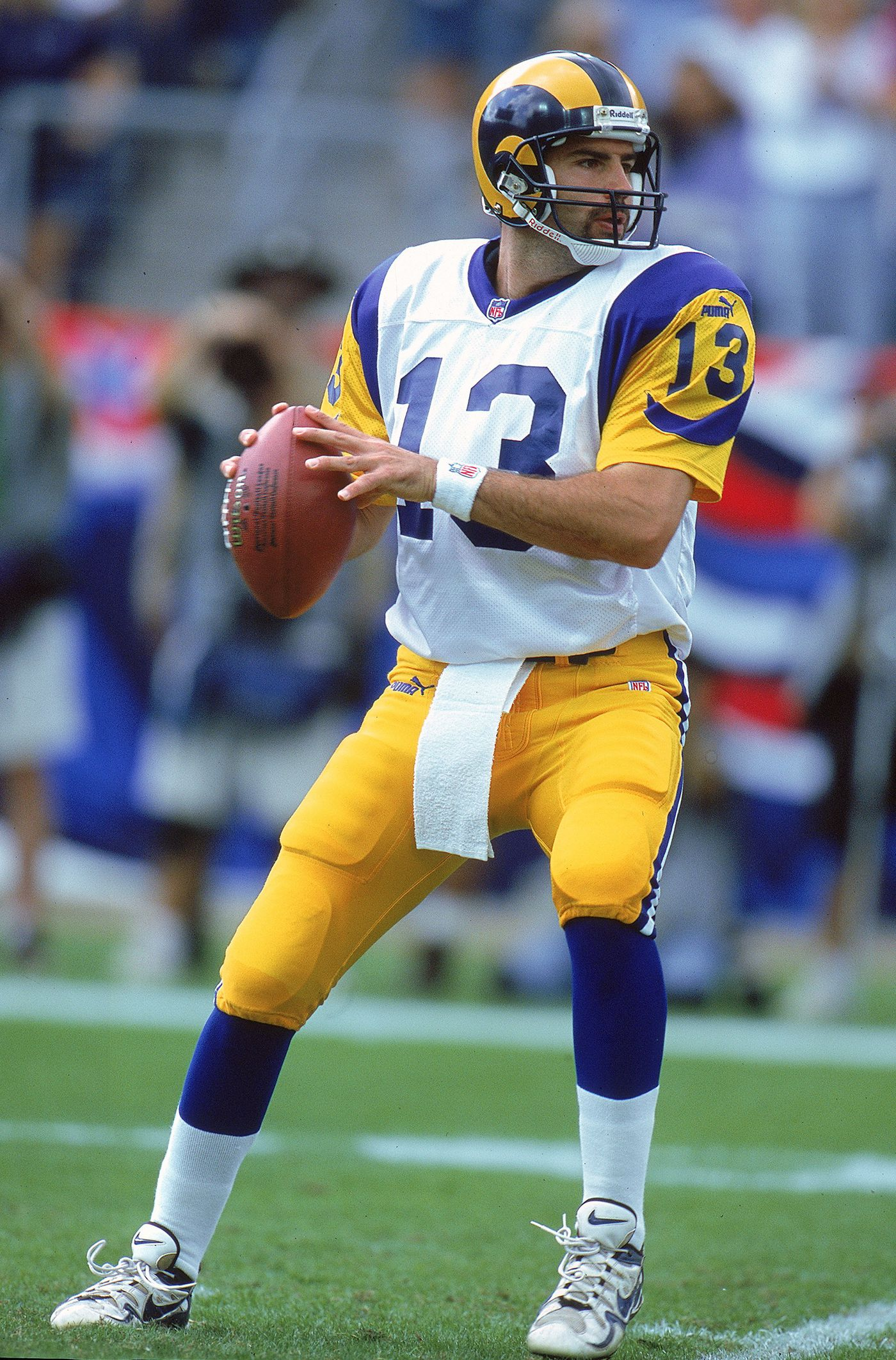 lowest price 7ea3e 46b9a Super Bowl 2019: The Rams will wear blue, yellow throwbacks ...
