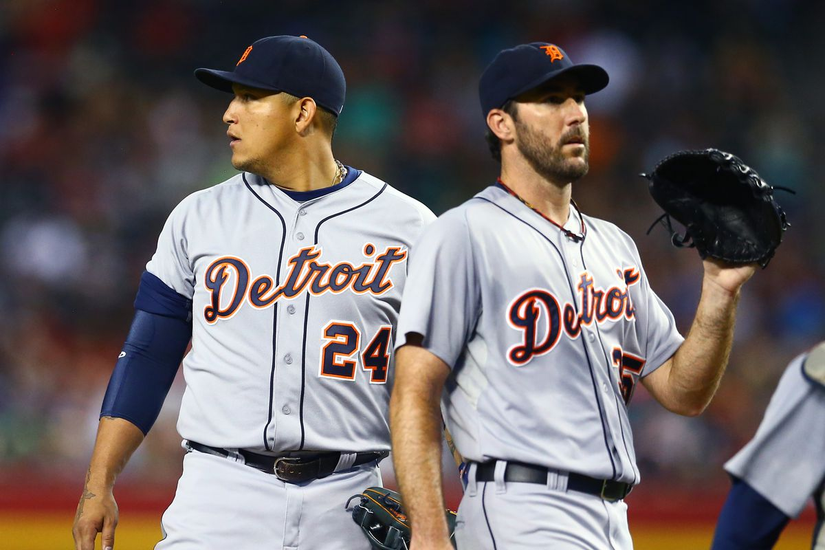 Miguel Cabrera and Justin Verlander, two of the Tribe's toughest rivals