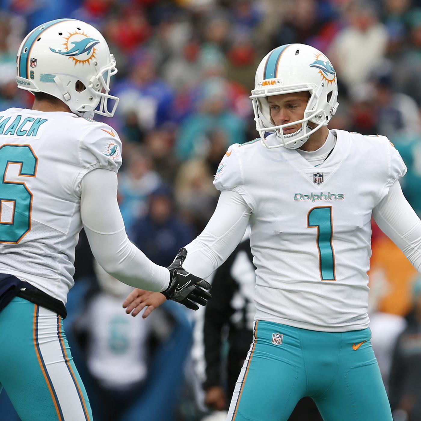 Who else wore the #1 in Miami Dolphins' history? - The Phinsider