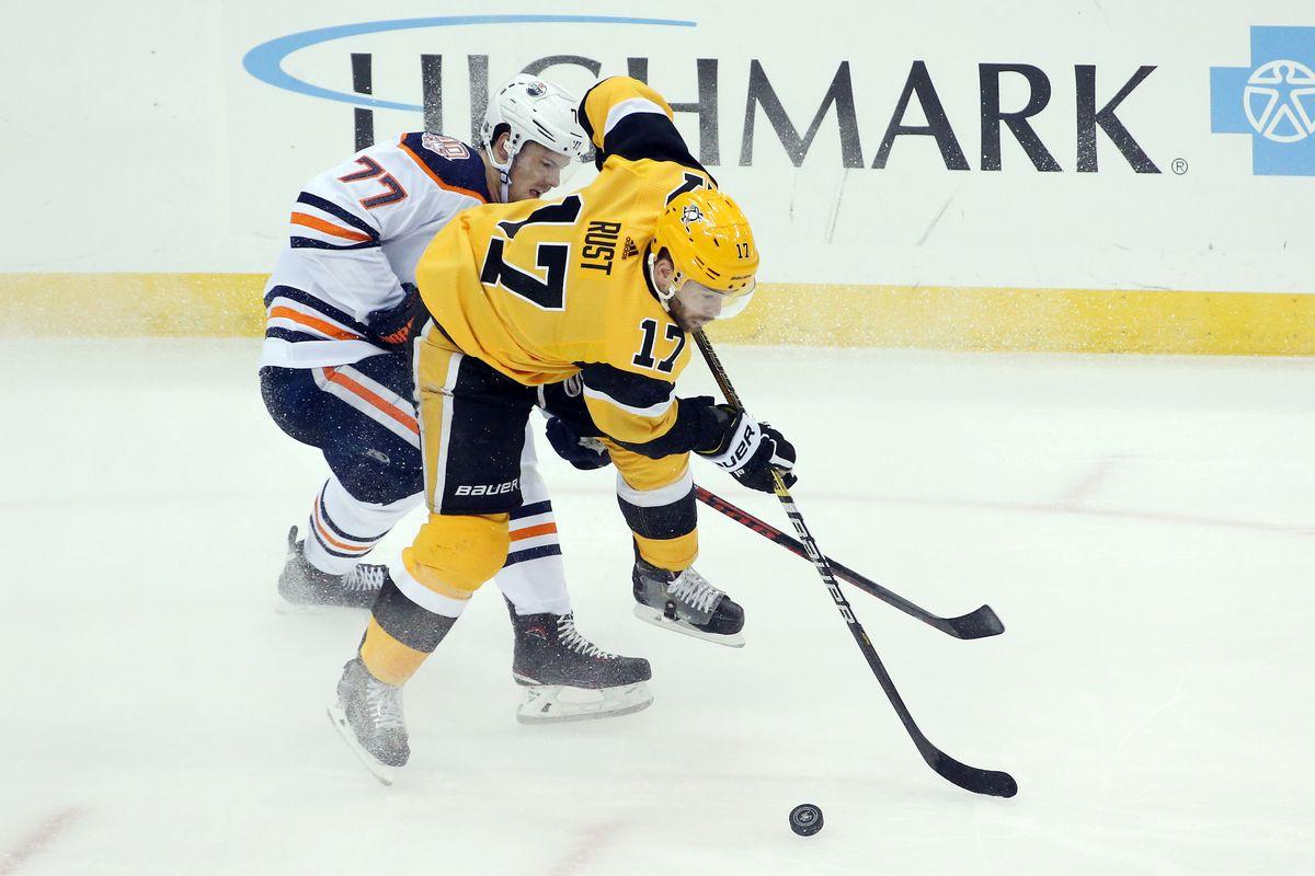 NHL: Edmonton Oilers at Pittsburgh Penguins