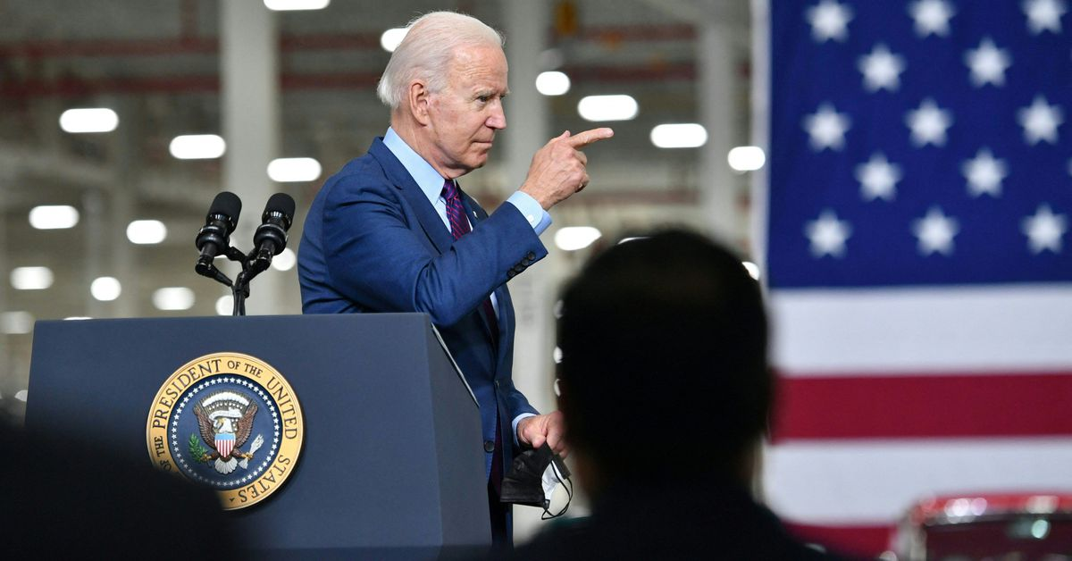 Biden wants half of new cars sold in 2030 to be hybrid or all-electric
