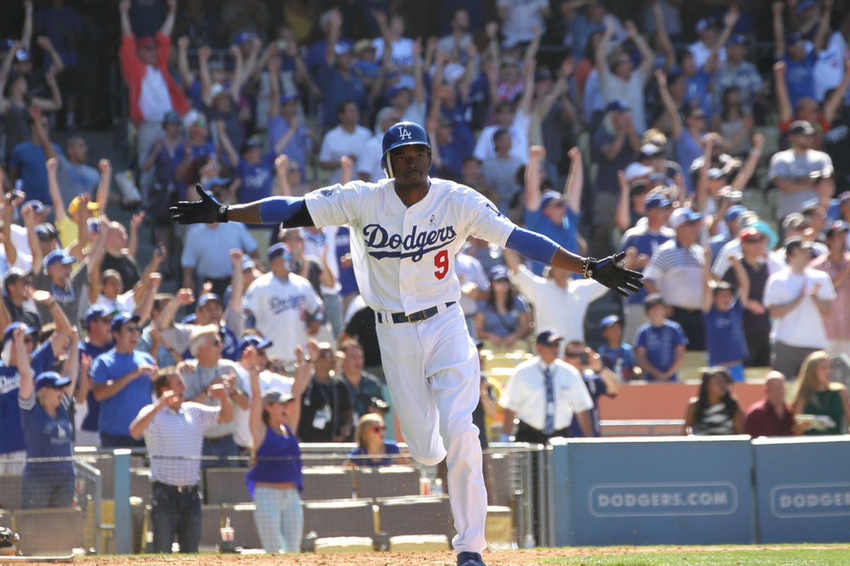 Dee Gordon had reason to celebrate on Sunday after a good week.