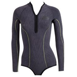 """<strong>Rip Curl</strong> G-Bomb L/S Booty Spring Suit, <a href=""""http://shop.ripcurl.com/us/shop/categories/wetsuits/girls/springsuits/g-bomb-ls-booty-spring-suit/"""">$99.95</a>"""