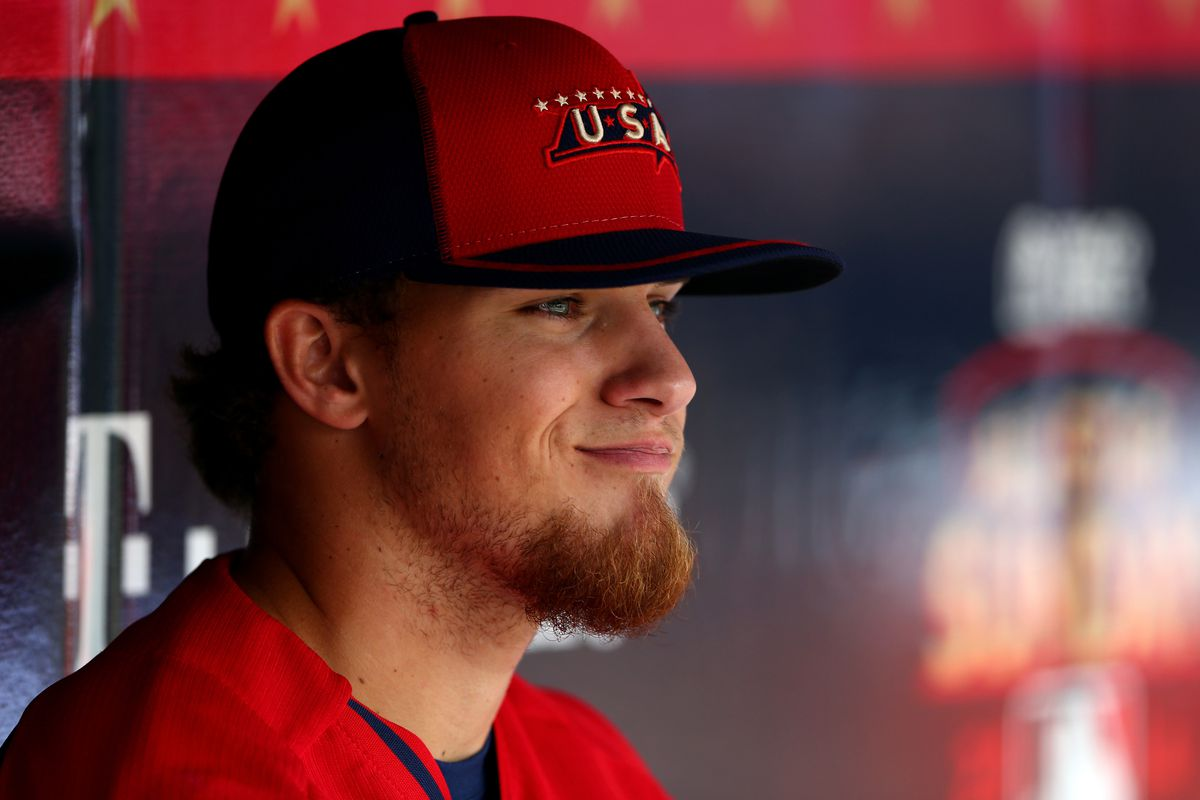Advanced ability to locate his fastball while growing facial hair