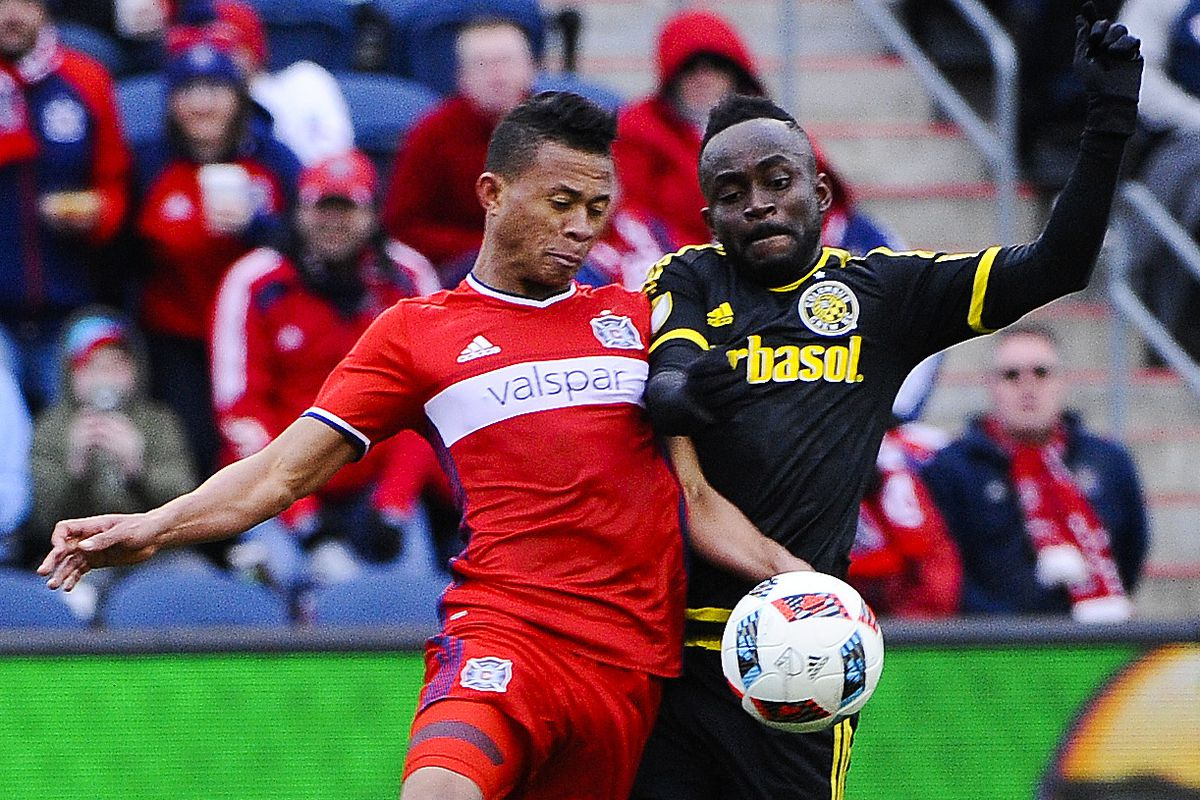 The Fire are set to clash with the Crew at Toyota Park in the U.S. Open Cup.