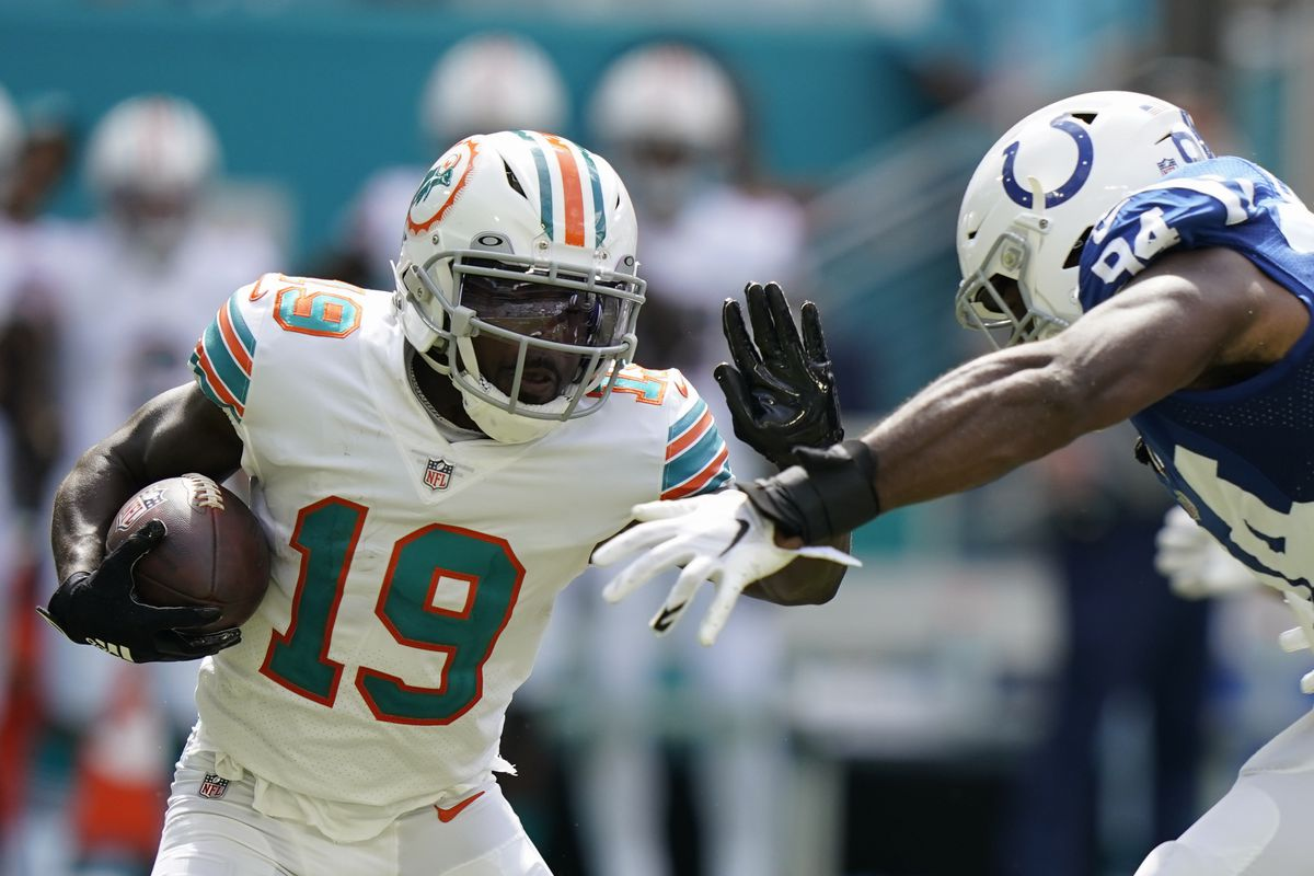 The Bears traded for Dolphins returner Jakeem Grant on Tuesday.