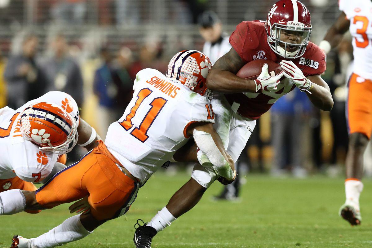 NCAA Football: College Football Playoff National Championship-Clemson vs Alabama