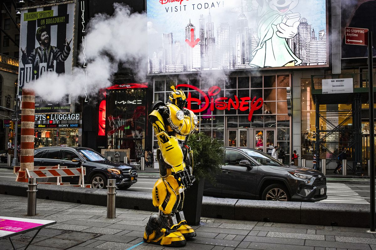 The pandemic has made every part of the job more complicated for costumed characters: They can no longerpop into a McDonald's to use a restroom, while interacting with those willing to pose for pictures brings new risks, too.